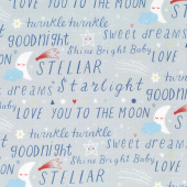 Stellar Baby - Sweet Dreams Moonbeam Yardage