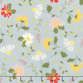 Clover Hollow - Meadow Blooms Shadow Yardage