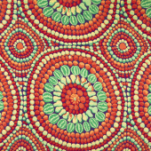"Kaffe Fassett - Red 108"" Wide Backing"