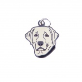 Labrador Retriever Charm - Yellow