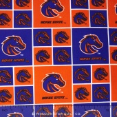 College - Boise State University Allover Yardage