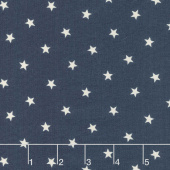 Crystal Lake - Stars Indigo Yardage