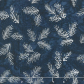 Artisan Batiks - Northwoods 8 Twigs Evening Metallic Yardage