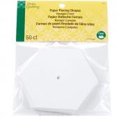 "Paper Piecing Shapes - Hexagon 2"""