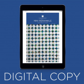 Digital Download - Mini Periwinkle Quilt Pattern by Missouri Star