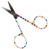 Missouri Star Embroidery Scissors - Bright Stars Motif