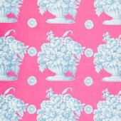 Kaffe Fassett Collective Fall 2018 - Stone Flower Pink Yardage
