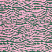Kaffe Fassett Collective - February 2021 Sharks Teeth Pine Yardage