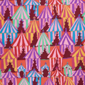 Kaffe Fassett Collective Spring 2018 - Bright Glamping Red Yardage
