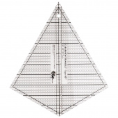 Clearview Triangle™ Super 60™ Acrylic Ruler
