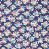 Good Times - Bouquet Navy Yardage