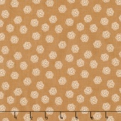 Bee Basics - Blossoms Nutmeg Yardage