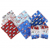 Bundled Buddies Flannel Fat Quarter Bundle