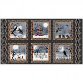 Spooky Night - Spooky Blocks Black Panel