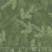 Merry & Bright - Tonal Pine Branch Forest Yardage