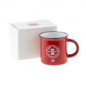 Happy Quilter Camp Mug - Red