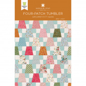 Four-Patch Tumbler Quilt Pattern by Missouri Star