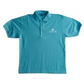 Embroidered Missouri Star Logo Large Polo - Maui Blue