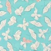 Wild Nectar - Flutter Aqua Yardage