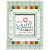 MSQC Quilt & Color Coloring Book