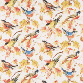 Forest Dance - Birds Allover Cream Yardage