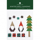 Winter Wall Hanging Pattern by Missouri Star