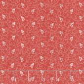 Walnut Creek - Vine Leaf Red Yardage