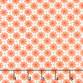 Good Day! - Diamond Daisy Orange Yardage