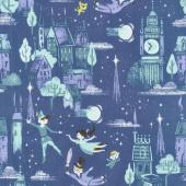 Neverland - Neverland Main Purple Yardage