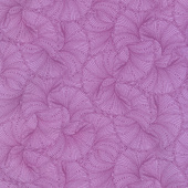 Peacock Flourish - Fanfare Purple Yardage