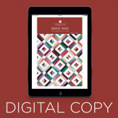 Digital Download - Brick Yard Quilt Pattern by Missouri Star