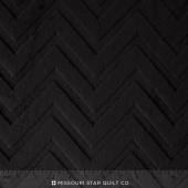 "Cuddle Embossed Chevron - Black 60"" Yardage"