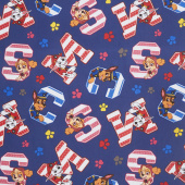 Paw Patrol - Favorite Pups Navy Yardage