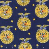 FFA Forever Blue - FFA Emblem Blue Yardage