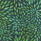 Artisan Batiks - Sunny Day Leaves Bluegrass Yardage