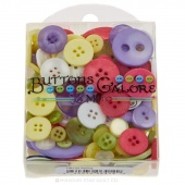 Variety Buttons - Tote Bag Spring
