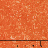 Tonga Batiks - Vivid Bouquet Orange Yardage