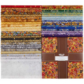 Gustav Klimt New Colors Metallic Ten Squares