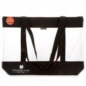 "MSQC's SEEYOURSTUFF Bag 20"" x 17"" - Black"