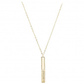 Seam Ripper Necklace - Gold