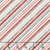 Free Range Fresh - Diagonal Stripe Cream Yardage