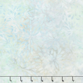 A Shore Thing Batiks - Packed Petals Light Blue Yardage
