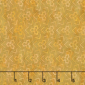 Cosmos - Triangles Gold Digitally Printed Yardage