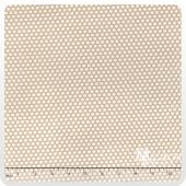 Muslin Mates - Polka Dots Natural Yardage
