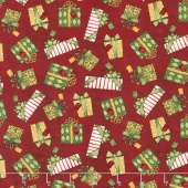 Santa's Big Night - Gift Toss Red Yardage