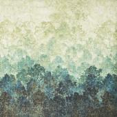 Stonehenge Deerhurst - Trees Ombre Green Yardage