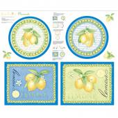 Just Lemons - Lemon Placemats Panel