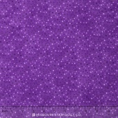 Wilmington Essentials - Amethyst Royale Petite Dots Bright Purple Yardage