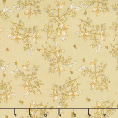 Tell the Bees - Bee Blossom Honey Yardage