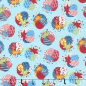 Crafty Studio - Pin Cushion Light Blue Yardage